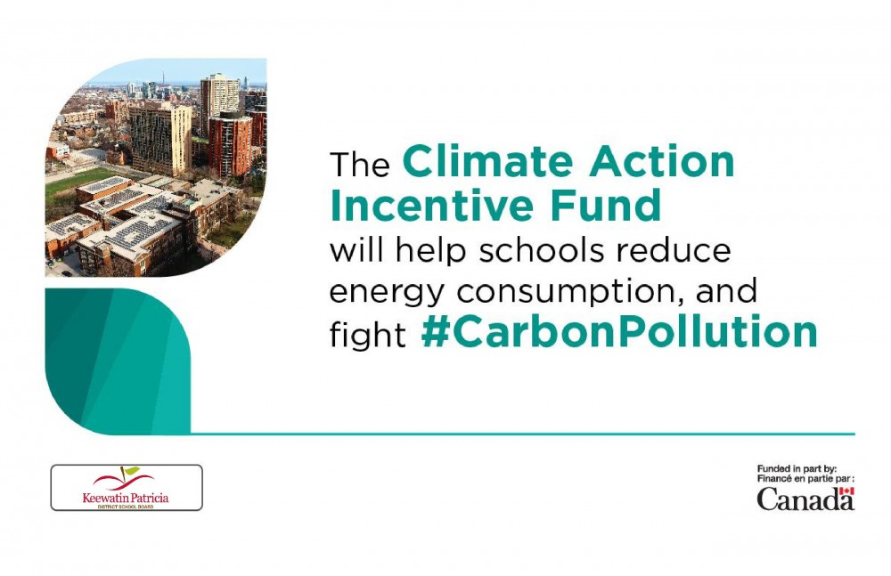 Climate Action Incentive Fund Sign